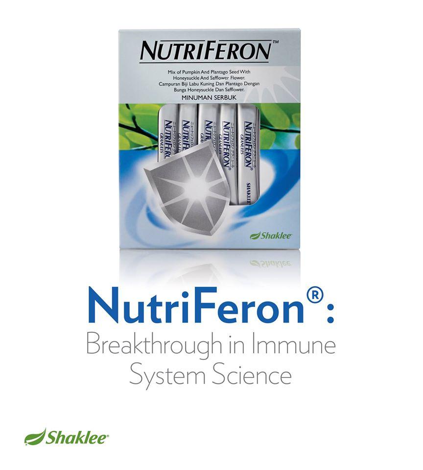 nutriferon Shaklee murah immune sistem nutriferon NutriFeron™ Sebagai Immune Booster 11187446 841512525884872 6528988142719895919 o