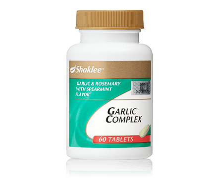 garlic-complex antibiotik semulajadi Garlic Complex garlic complex