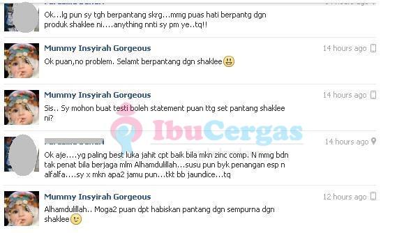 Set Bersalin Terbaik Shaklee 2 set bersalin shaklee Set Bersalin Shaklee - Alahai, Murahnya Harga !! Set Bersalin Terbaik Shaklee 2