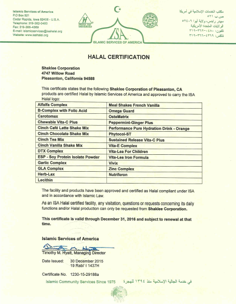 Screenshot 2016-05-16 10.03.21 sijil halal shaklee Sijil Halal Shaklee - Usah Diragukan Screenshot 2016 05 16 10