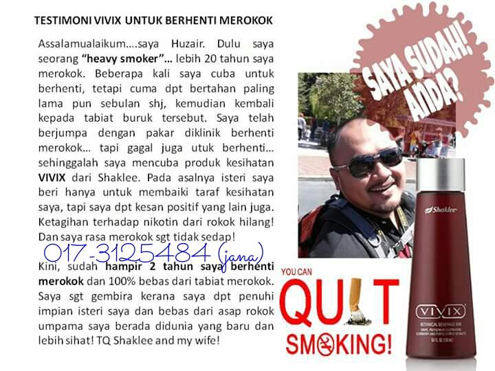 testimoni-vivix-berhenti-merokok-1 berhenti merokok BAGAIMANA CARA MUDAH UNTUK BERHENTI MEROKOK DENGAN CEPAT Testimoni vivix berhenti merokok 1