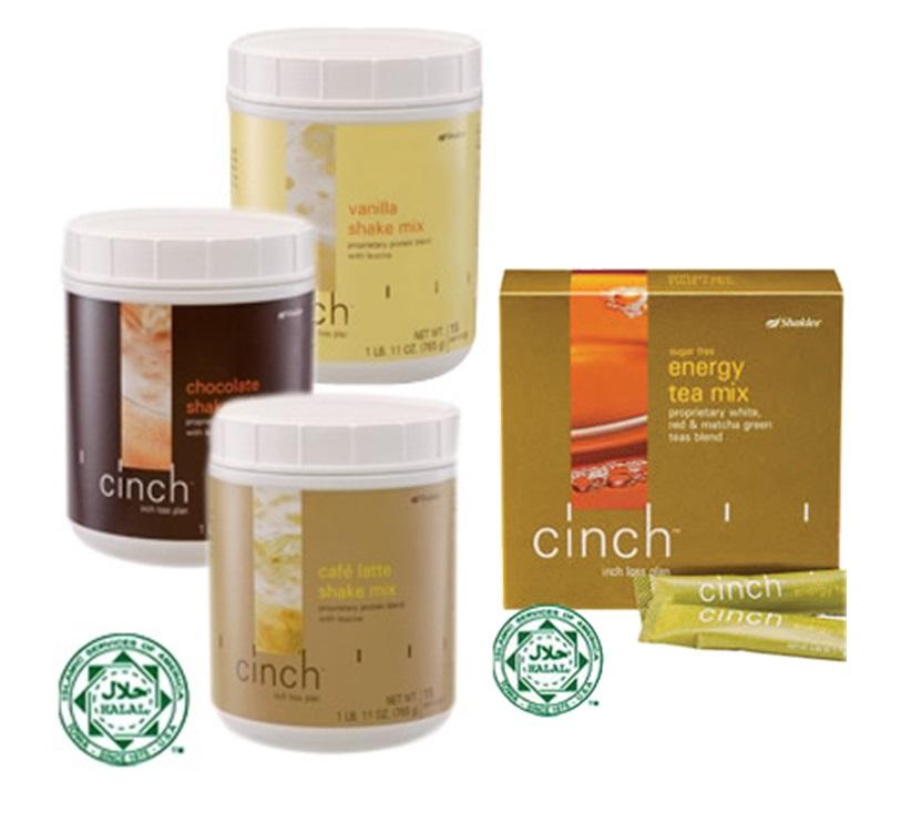 cinch shake + cinch energy tea mix