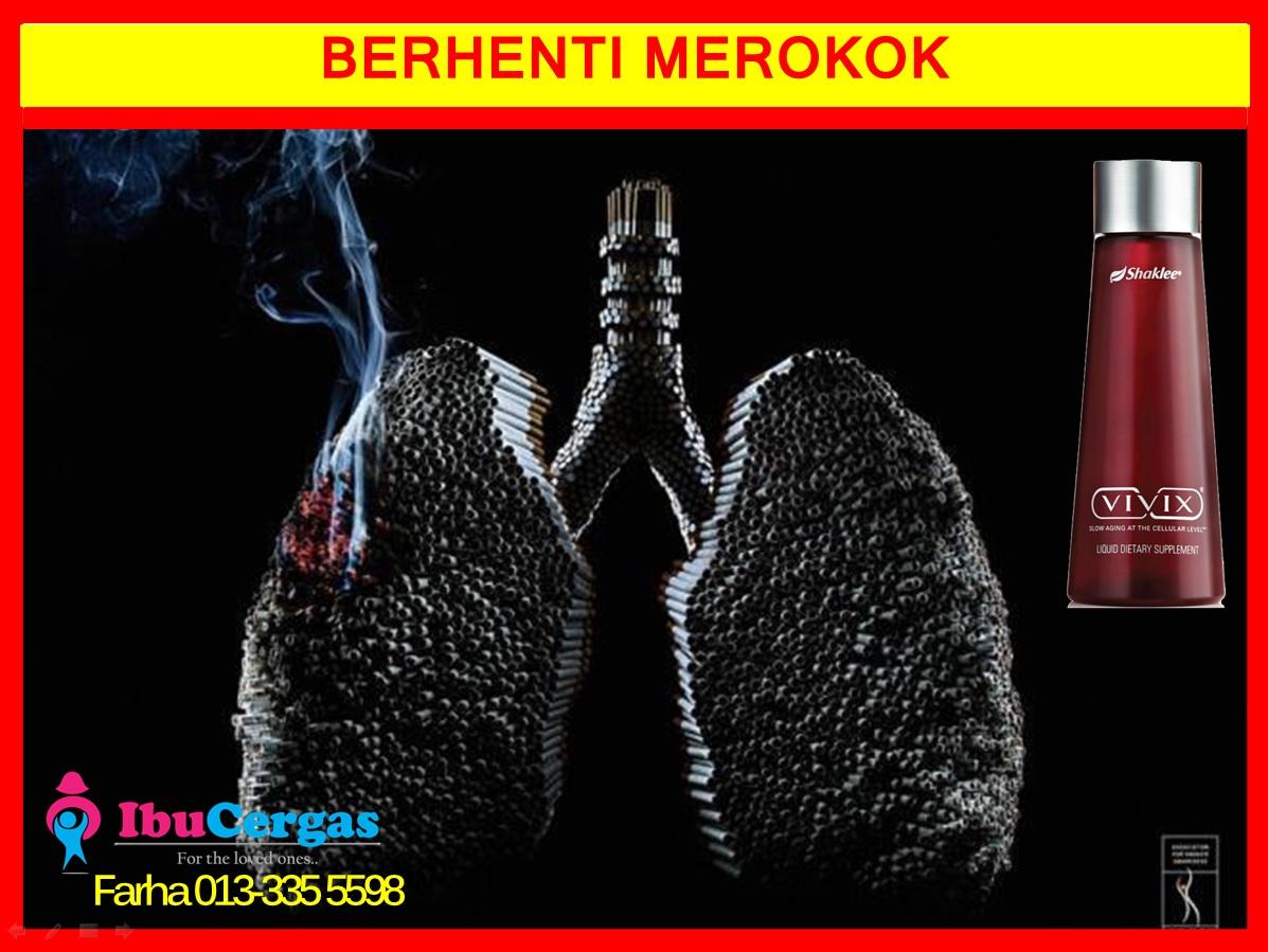 Berhenti Merokok 4 mengurangkan ketagihan rokok Mengurangkan Ketagihan Rokok Dengan Vivix Shaklee Berhenti Merokok 4