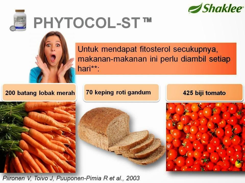 menghilangkan kolestrol kolesterol Phytocol ST Shaklee Menghalang Pembentukan Kolesterol phyto7