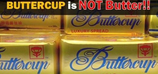 BEza butercup dan pure butter