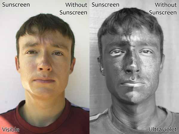 sunscreen-UV-example {focus_keyword} Takut Jeragat Tak? Kalau Takut, Sila Pakai SPF Sunscreen sunscreen UV example