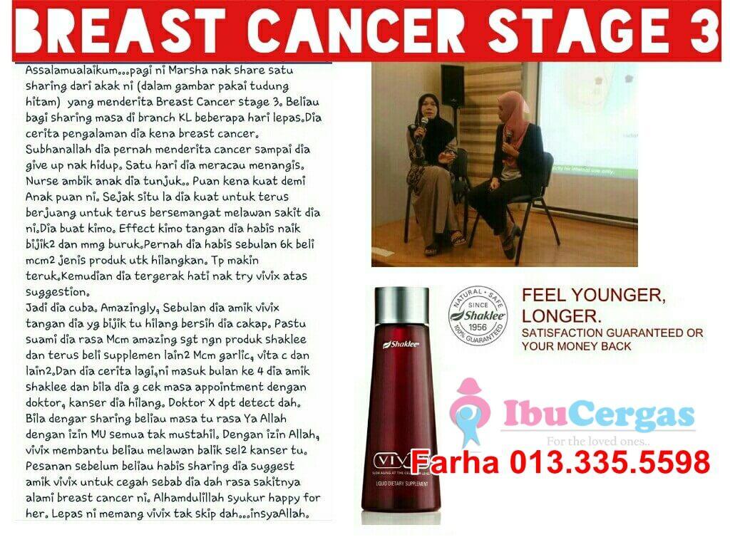 kanser payudara Mencari Rawatan Alternatif Kanser Payudara? 10