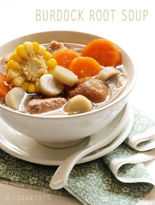 burdock soup untuk pesakit gout makanan untuk pesakit gout serangan gout 9 Cara Untuk Kurangkan Serangan Gout P8123067 copy1