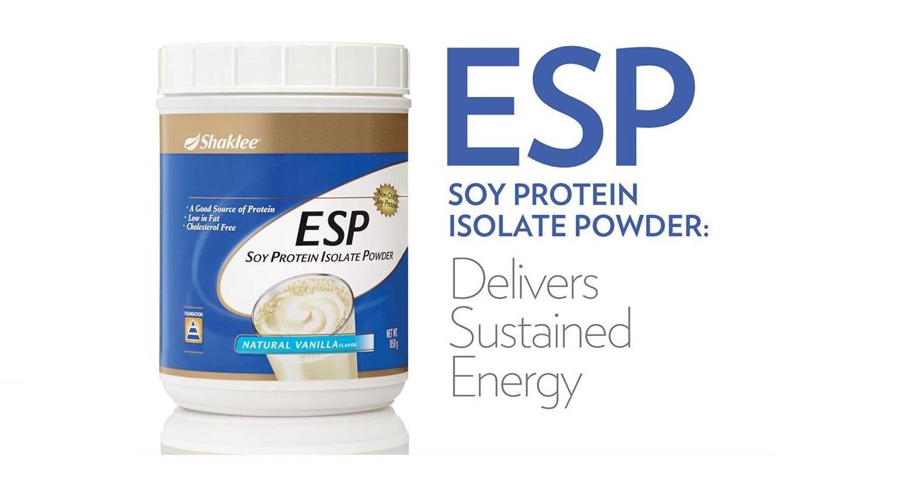 Energizing Soy Protein (ESP), Bukan Sekadar Soya