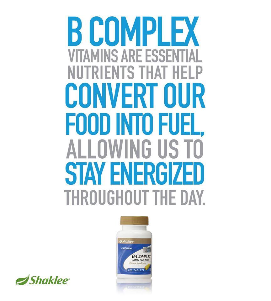 B complex Shaklee 3