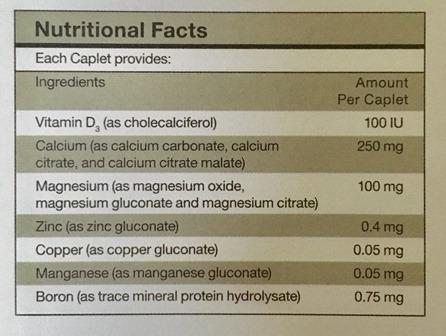 Ostematrix shaklee vitamin untuk tulang