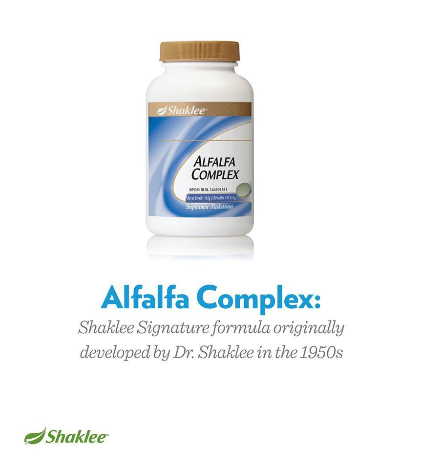 alfafa complex shaklee detoks 1