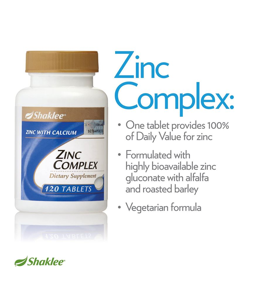 zinc complex shaklee 2