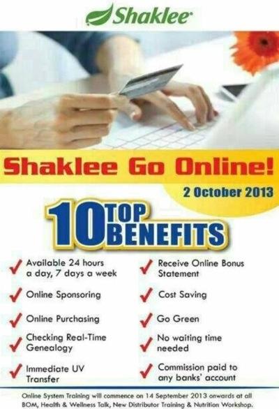 Shaklee Goes Online