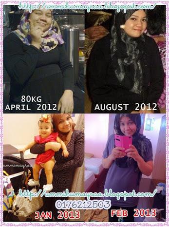 Testimonial | Set Kurus Ibu Menyusu Yang Mengagumkan!!!