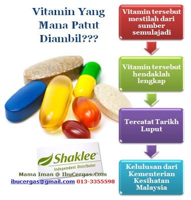 Kenapa Perlu Pilih Vitamin Semulajadi Berbanding Vitamin Sintetik?
