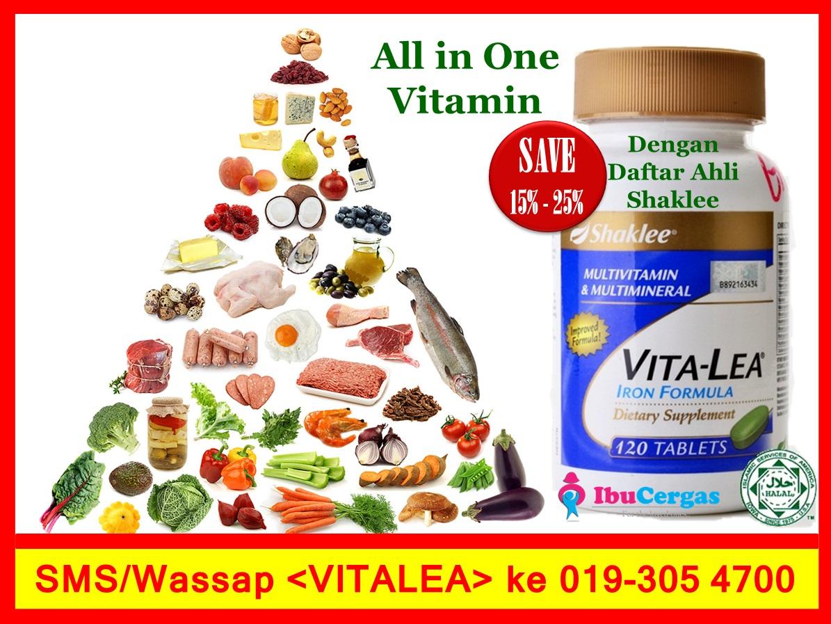 Vitalea Shaklee Vitamin Semua Dalam Satu