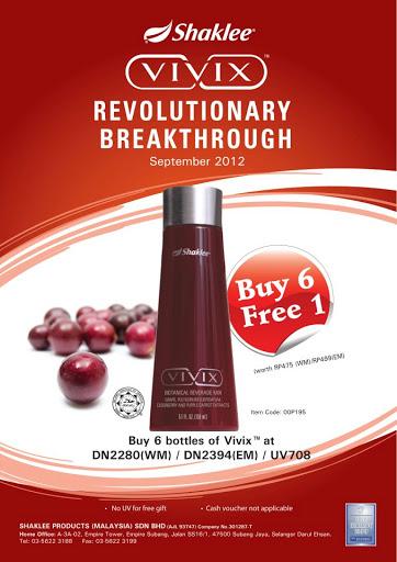 Testimonial ViViX – Promotion May 2013!! Buy 6 Free 1!