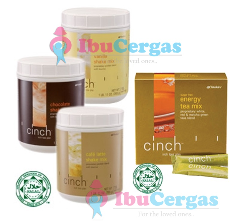 cinch shake + cinch energy tea mix