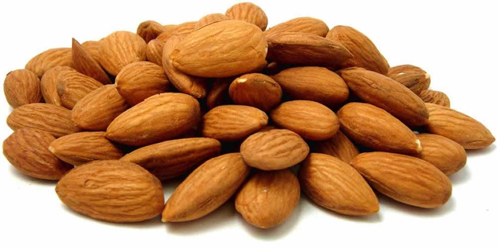 tips kuruskan badan dengan almond