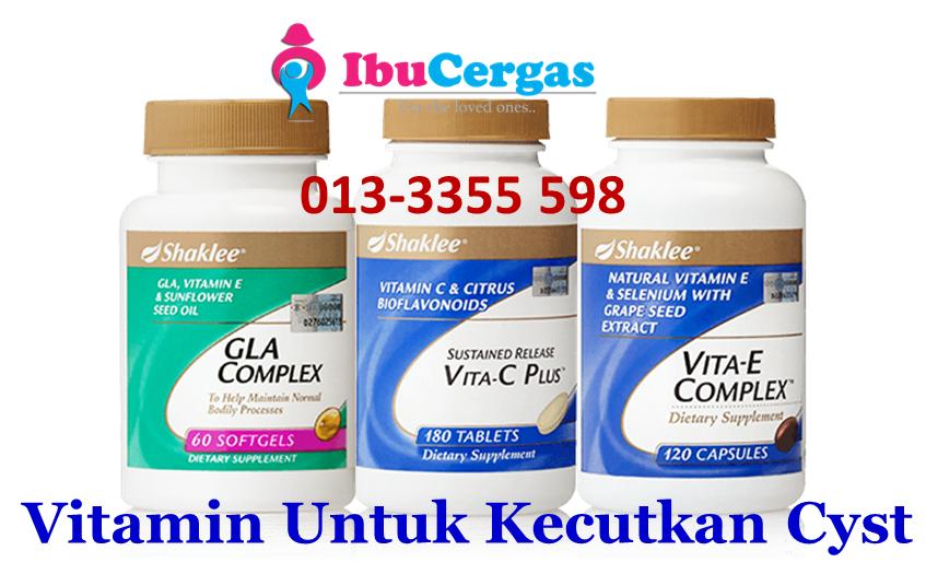 Vitamin Untuk Kecutkan Cyst