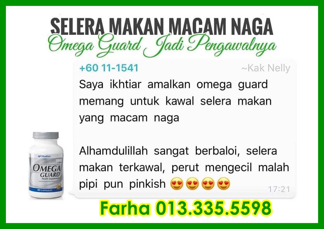 Omegaguard Vitamin Kurangkan Nafsu Makan - Supplement Kurangkan Nafsu Makan