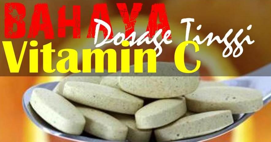 Kenapa Makan Vitamin C 1000 mg Atau Lebih Adalah Membazir?