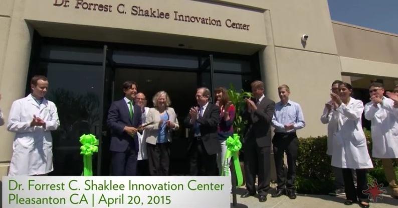 Perasmian Bangunan R&D Baru Shaklee, Pleasanton, California