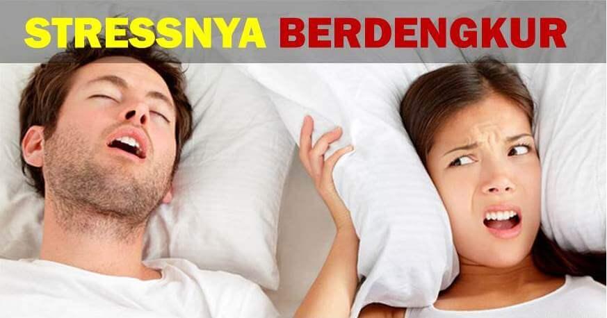 Cara Nak Elakkan Tidur Suami Berdengkur Kuat Sampai Tak Boleh Tidur