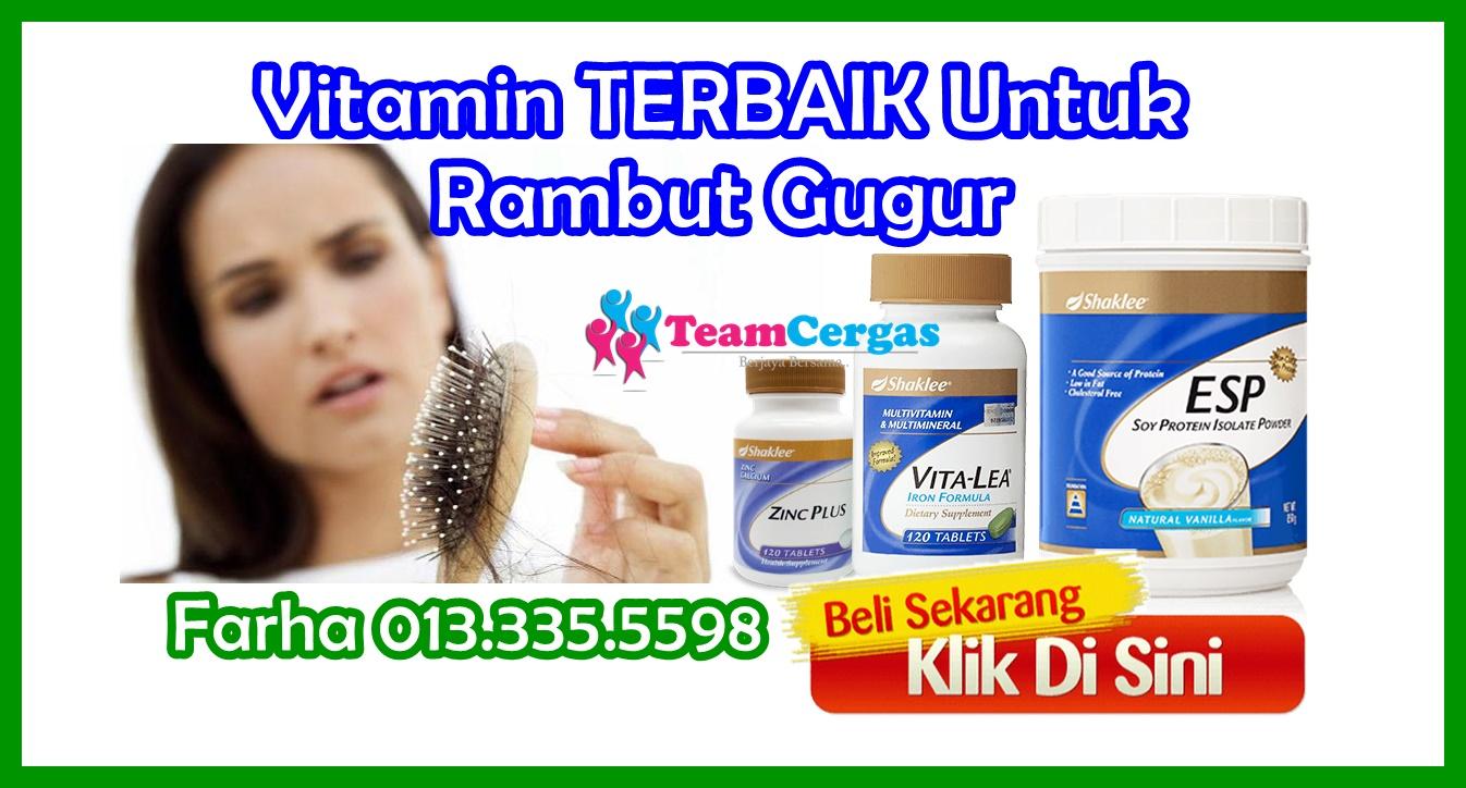 Vitamin Untuk Rambut Gugur - Supplement Untuk Rambut Gugur