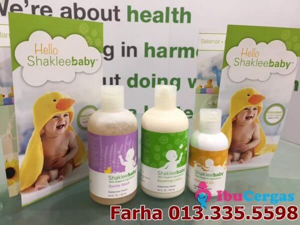 Sabun Set Mandian Baby Organik Jenama Shaklee 1