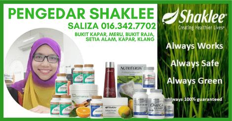 Ejen Shaklee Meru, Klang, Kapar, Bukit Kapar – Saliza