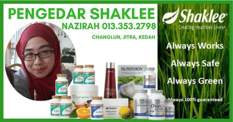 Ejen Shaklee Alor Setar, Kedah – Nazirah