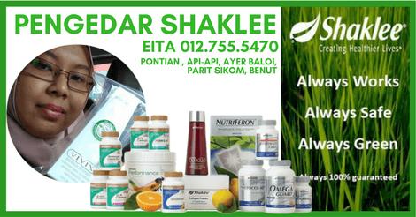 Pengedar Vivix Shaklee Pontian Johor | Stokis Vivix Pontian