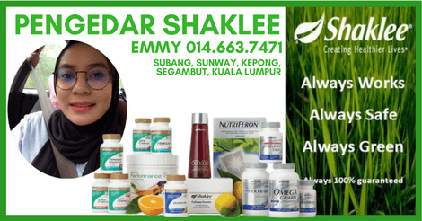 Pengedar Shaklee Subang Jaya | Pengedar Shaklee Kuala Lumpur