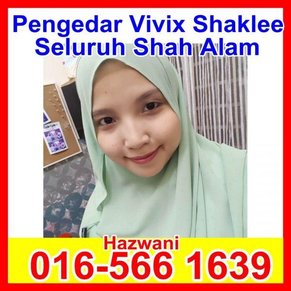 Pengedar Shaklee Shah Alam, Pengedar Vivix Shaklee Shah Alam, Pengedar Produk Shaklee, Jadi Ahli Shaklee, Mana Nak beli Vivix Shah Alam Hazwani 2 (1)