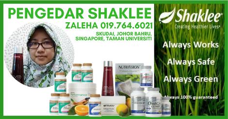 Pengedar Vivix Shaklee Skudai | Pengedar Shaklee Taman Universiti Johor