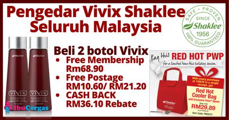 Pengedar Vivix Shaklee Malaysia | Agen Vivix Shaklee