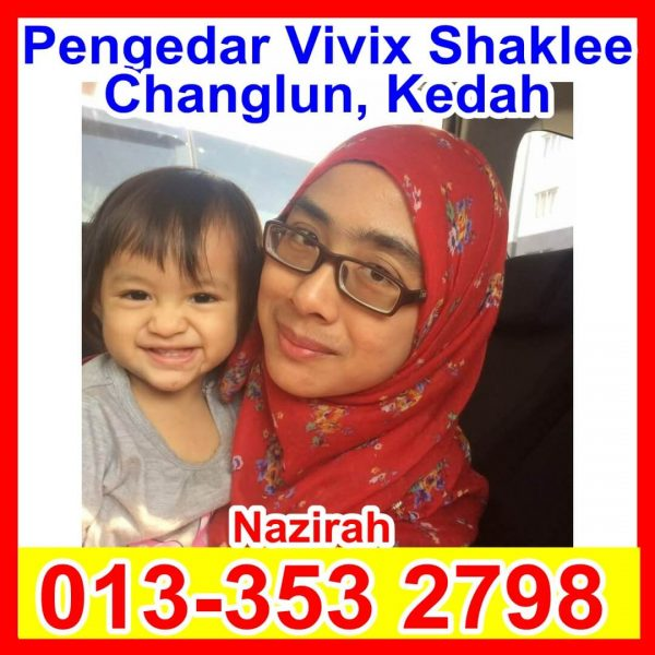 Pengedar Vivix Shaklee, Pengedar Shaklee Changlun, Pengedar Shaklee Kedah, Pengedar Shaklee Jitra Nazirah Nazirah (1)