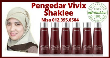 Pengedar Vivix Shaklee, Pengedar Shaklee Damansara, Pengedar Shaklee Petaling Jaya, Nisa