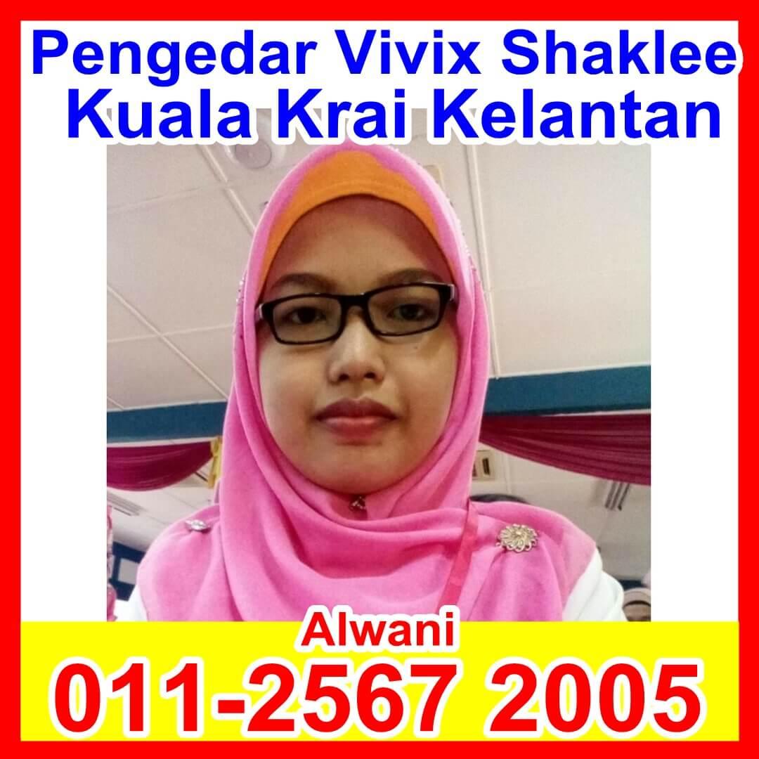 Pengedar Vivix Shaklee, Pengedar Shaklee Kelantan, Pengedar Shaklee Kuala Krai, Pengedar Shaklee Machang, Pengedar Shaklee - Alwani Krai