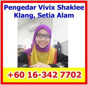 Pengedar Vivix Shaklee, Pengedar Shaklee Klang, Pengedar Shaklee Meru, Pengedar Shaklee Bukit Kapar, Pengedar Shaklee Setia Alam (1)