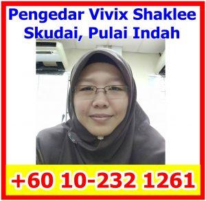 Pengedar Vivix Shaklee Pulai Indah, Pengedar ShakleeTaman Universiti, Pengedar Shaklee Skudai, Pengedar Shaklee Johor Bahru