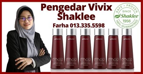 Saya Pengedar Shaklee Shah Alam | Pengedar Vivix Shaklee