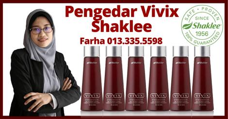 Pengedar Vivix Shaklee Shah Alam, Pengedar Shaklee Shah Alam Farha