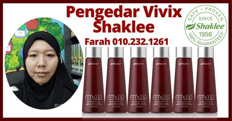Pengedar Vivix Shaklee Skudai, Pengedar Shaklee UTM, Pengedar Shaklee Singapore, Pengedar Shaklee Johor, Pengedar Shaklee Pulai Indah,