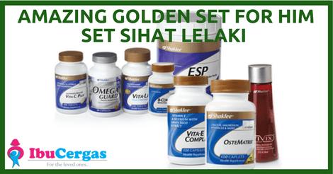 Set Pakej Shaklee Set Kesuburan Lelaki Shaklee Vitamin Untuk Kesuburan Lelaki Premium
