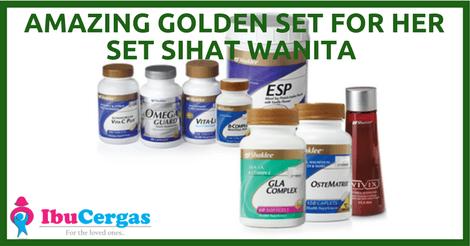 Set Pakej Shaklee Set Kesuburan Wanita Shaklee Premium Vitamin Untuk Kesuburan Wanita Premium