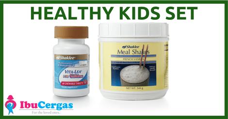 Pakej Set Shaklee Vitamin Untuk Kanak-kanak Set Kanak-kanak Shaklee