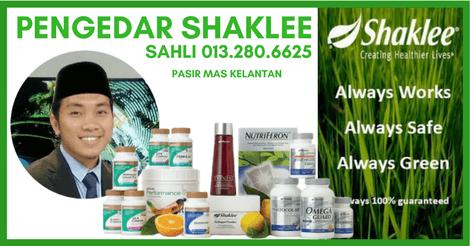 Ejen Shaklee Pasir Mas, Kelantan – Muhammad Sahli